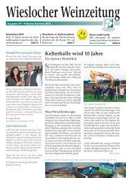 Ausgabe 24 - Winzerkeller Wiesloch
