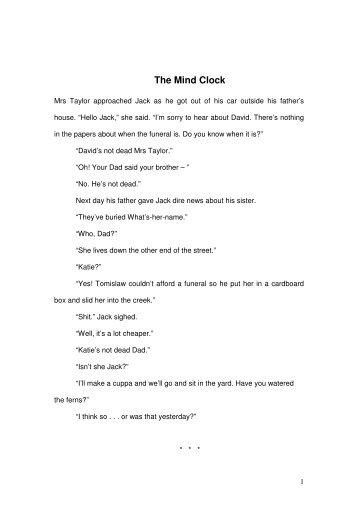 Roland Burrows -The Mind Clock (39KB)