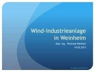 Auszug Vortrag Wind-Industrieanlage in Weinheim - Gegenwind ...