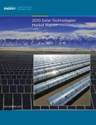 2010 Solar Technologies Market Report, November 2011 ... - NREL