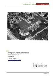 Projektausschreibung 30. Juni 2013 - Infoclio.ch