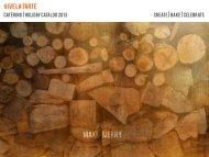 catering catalog - Vive La Tarte
