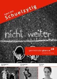 Schuelzytig August 2013 [PDF, 2.00 MB] - Gemeinde Glarus