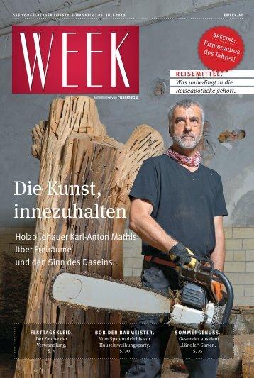 Die Kunst, innezuhalten - Ausgabe vom 26. Juli