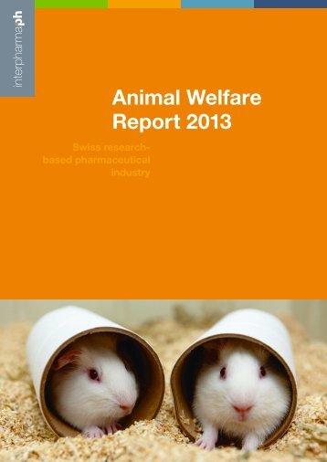 Animal Welfare Report - Interpharma