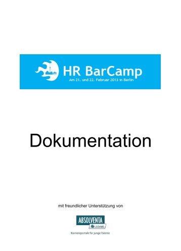 Download - HR BarCamp - Jimdo