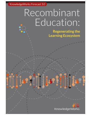 Regenerating the Learning Ecosystem - KnowledgeWorks