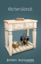 JA Kitchen Islands View Catalog - Hardware Resources