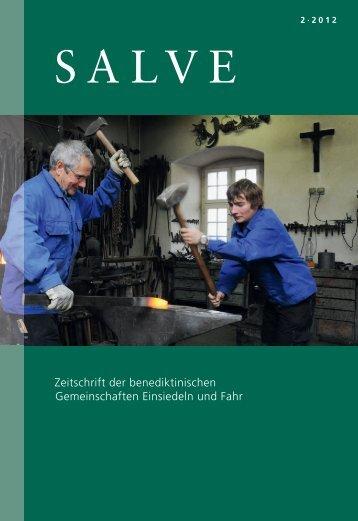 Zeitschrift der benediktinischen Gemeinschaften Einsiedeln und Fahr