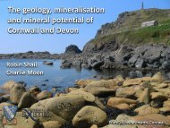 The geology, mineralisation and mineral potential of Cornwall and ...