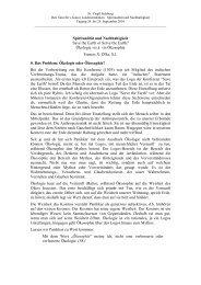 Vortrag Francis D'Sa - St. Virgil Salzburg