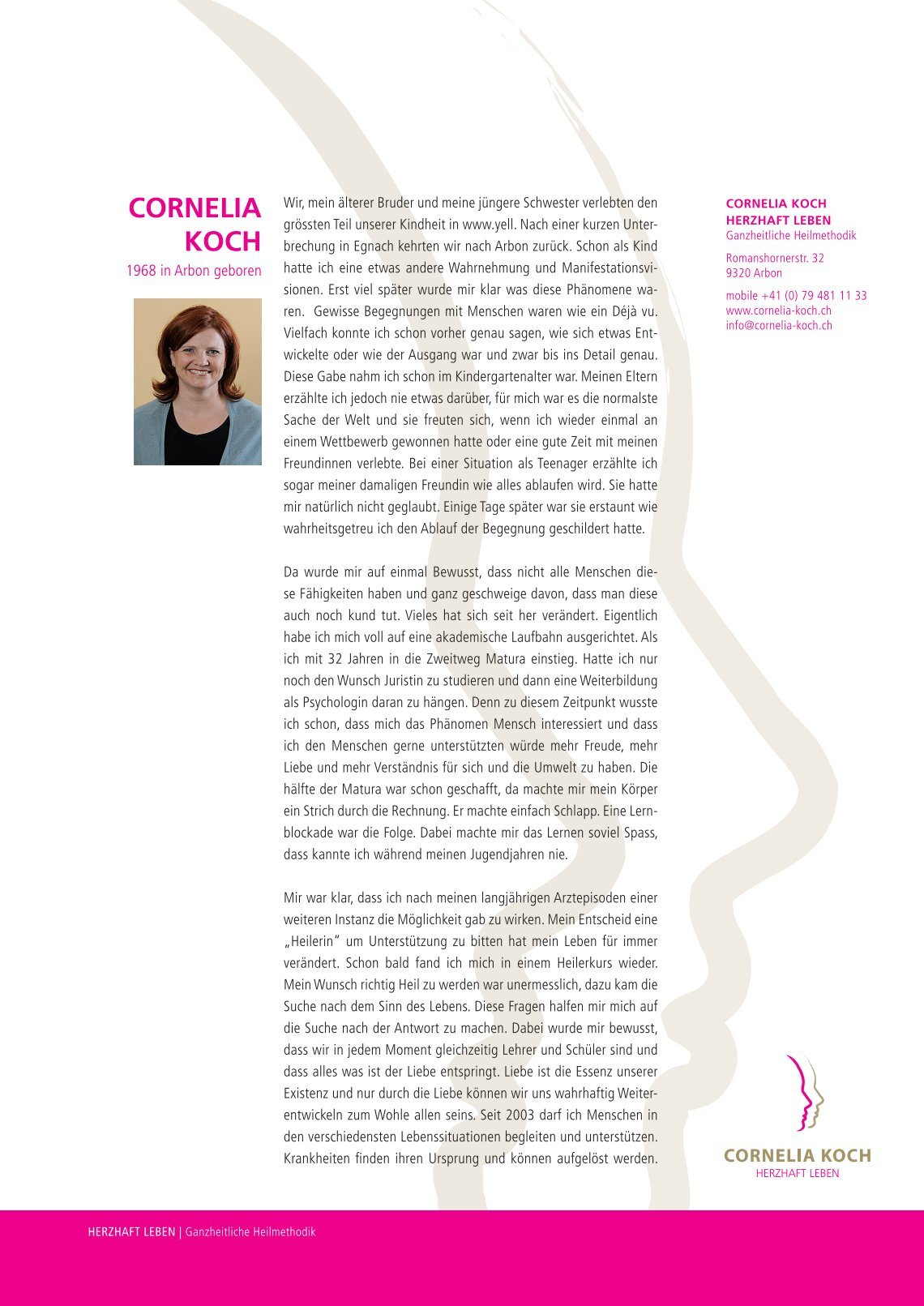 Cornelia Koch 1 free magazines from cornelia koch ch