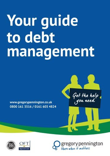 Your guide to debt management - Gregory Pennington