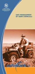 safe management of farm chemicals - SafeWork SA - SA.Gov.au