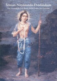 Sriman Nityananda Dvadasakam