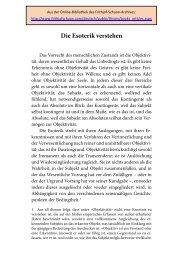 """""""Die Esoterik verstehen"""" Aus Frithjof Schuon, Esoterik als Grundsatz ..."""