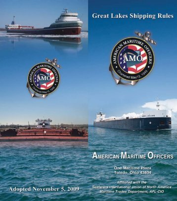 Great Lakes Shipping Rules