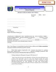 RM 2 - MPSJ - Majlis Perbandaran Subang Jaya