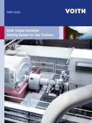 Torque converter power chart - Voith Turbo