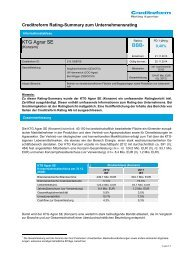Rating-Summary 2013 - KTG Agrar AG