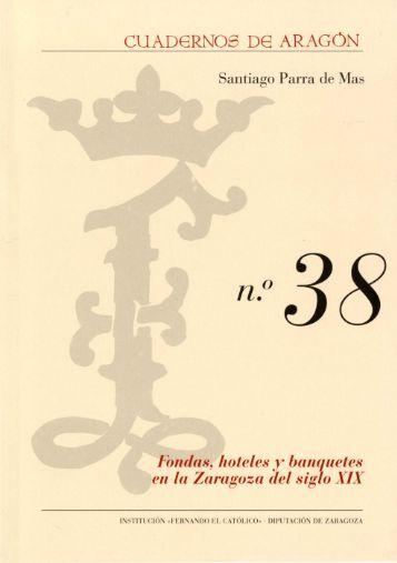 Fondas, hoteles y banquetes en la Zaragoza del siglo XIX