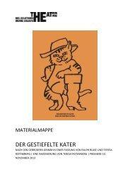 Materialmappe Der gestiefelte Kater - Theater Biel Solothurn
