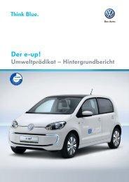 Der e-up! - Volkswagen AG