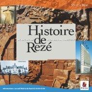 Plaquette sur l'histoire de Rezé - Ville de Rezé