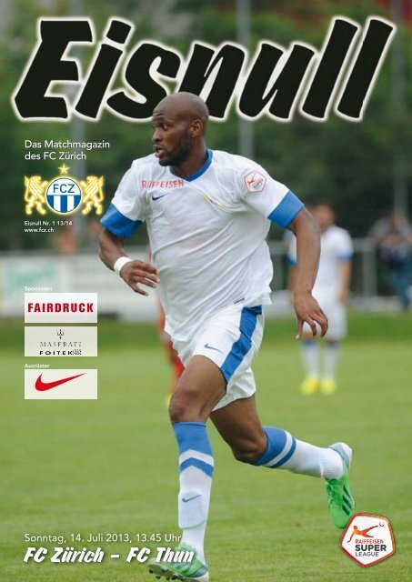 Nr. 1 13/14 (Thun) - FC Zürich