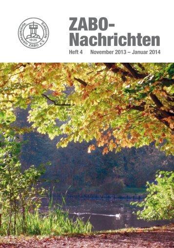 Heft 2013-4 - Vorstadtvereins Zabo