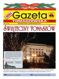 Nowa Gazeta Tomaszowska NR 12/2005 (pdf, 10 MB)