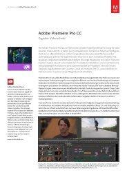 Im Blickpunkt Adobe Premiere Pro CC