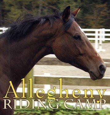 Allegheny Riding Camp - Sprachenmarkt.de