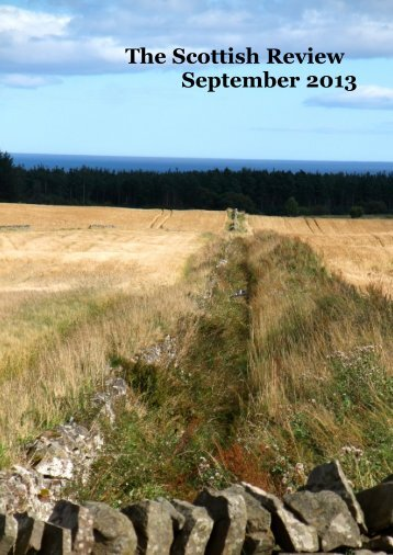 The September anthology is out now - Scottish Review