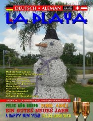DE - LA PLAYA magazin