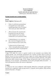 Tracce brevi Italiano.pdf - Biblioteca europea d'informazione e cultura