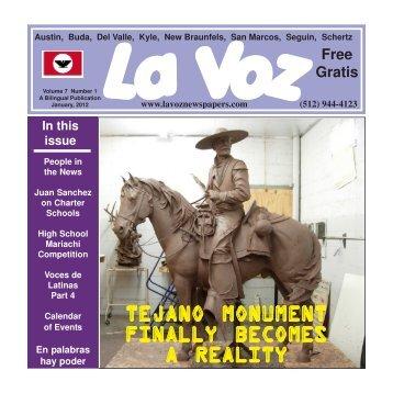 La Voz Newspaper, January 2012.pmd - La Voz Newspapers