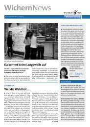 WichernNews 03/2013 - Wichern-Schule