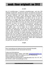 neuköllner originaltöne 2012 - Genezareth