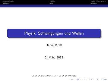 Physik: Schwingungen und Wellen - Daniel Kraft