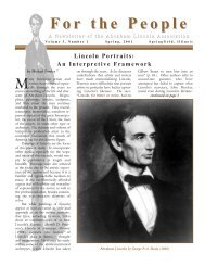For the People - Abraham Lincoln Association