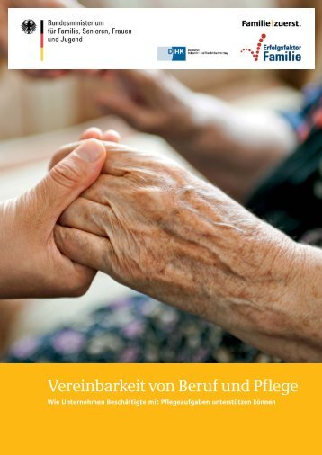 Vereinbarkeit von Beruf und Pflege