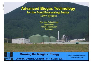 Advanced Biogas Technology