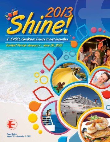 Shine 2013 Contest Brochure - E. Excel International