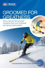 Groomed for Greatness - CAA Manitoba