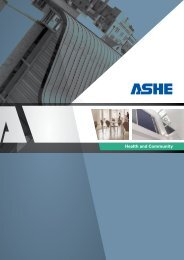 Ashe Health & Community Brochure