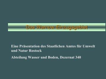 Das Warnow-Einzugsgebiet