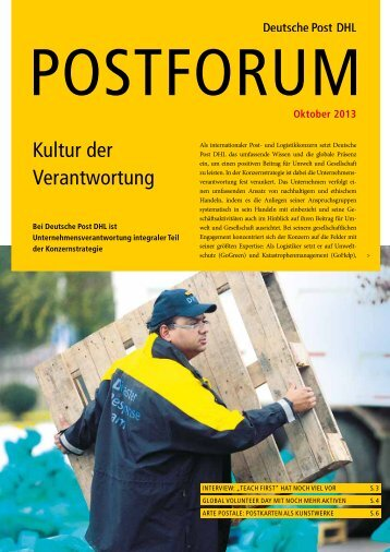 Oktober 2013 - Deutsche Post DHL