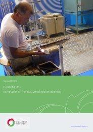 Rapport 1/2011: Dusinet fullt - Utdanningsforbundet