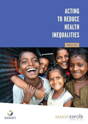 Press kit: Acting to reduce healthcare inequalities - Sanofi